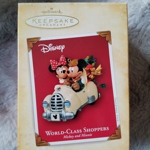 World-Class Shoppers Disney Ornament
